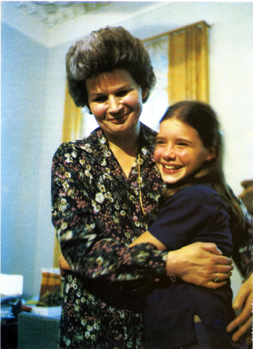 Photo: With Valentina Tereshkova